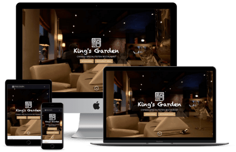 Nieuwe website King's Garden Wageningen